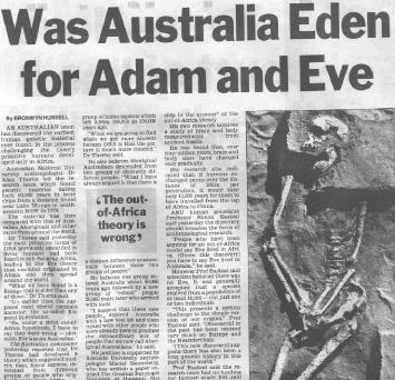 Was Adma and EVE Australian?